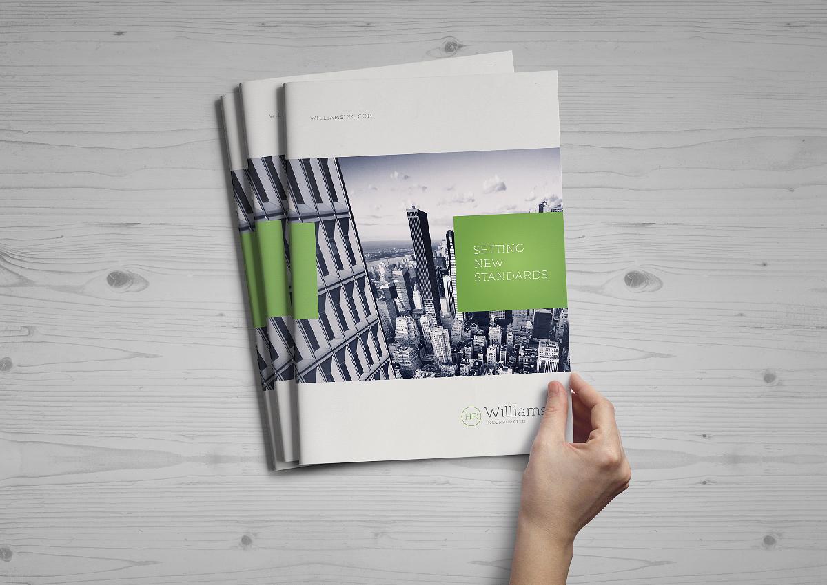 A4 Brochure - Catalog Mockup