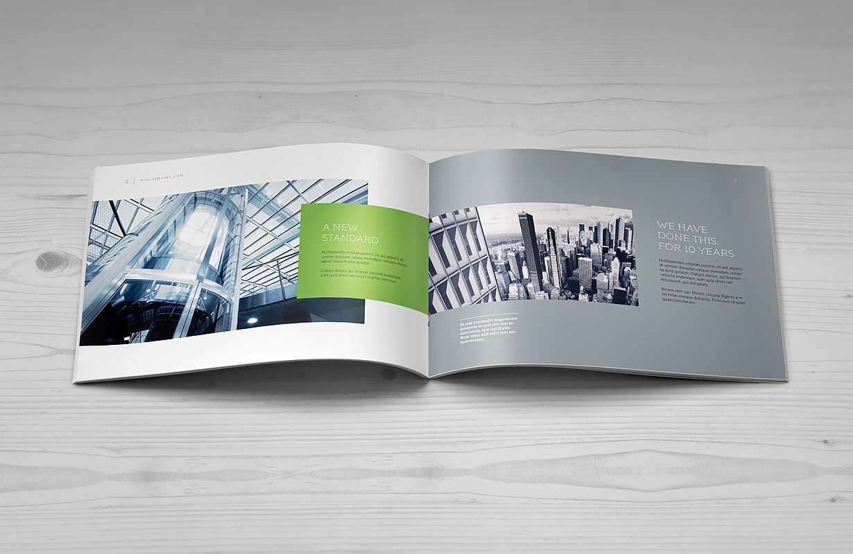 brochure design mockup - landscape brochure mock up punedesign