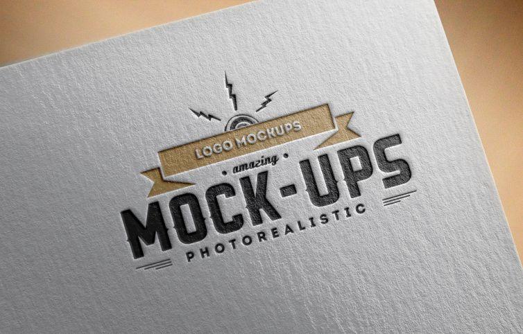 Logo Mock-Up / Paper Edition 1
