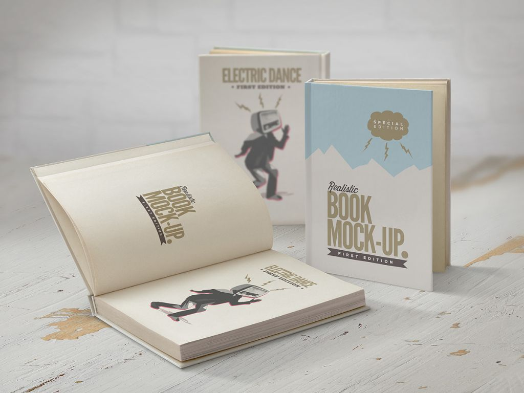 Cook Book Cover Ups : Book mockup punedesign