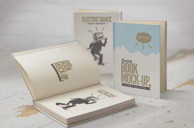 Book Mock-Up Set – 1