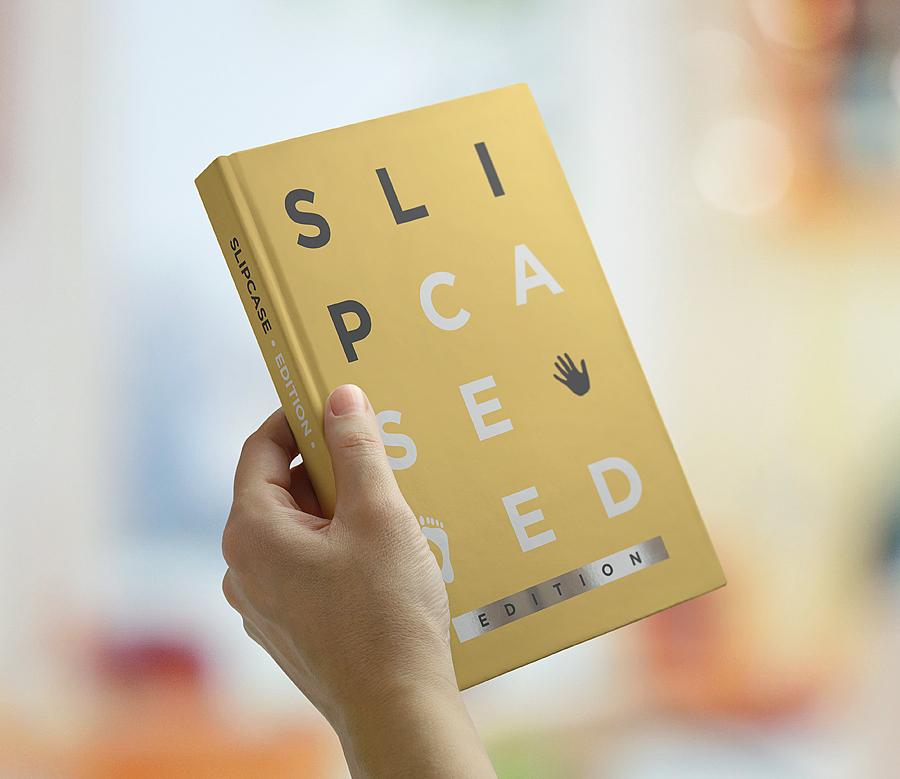Book Mockup Slipcase Edition