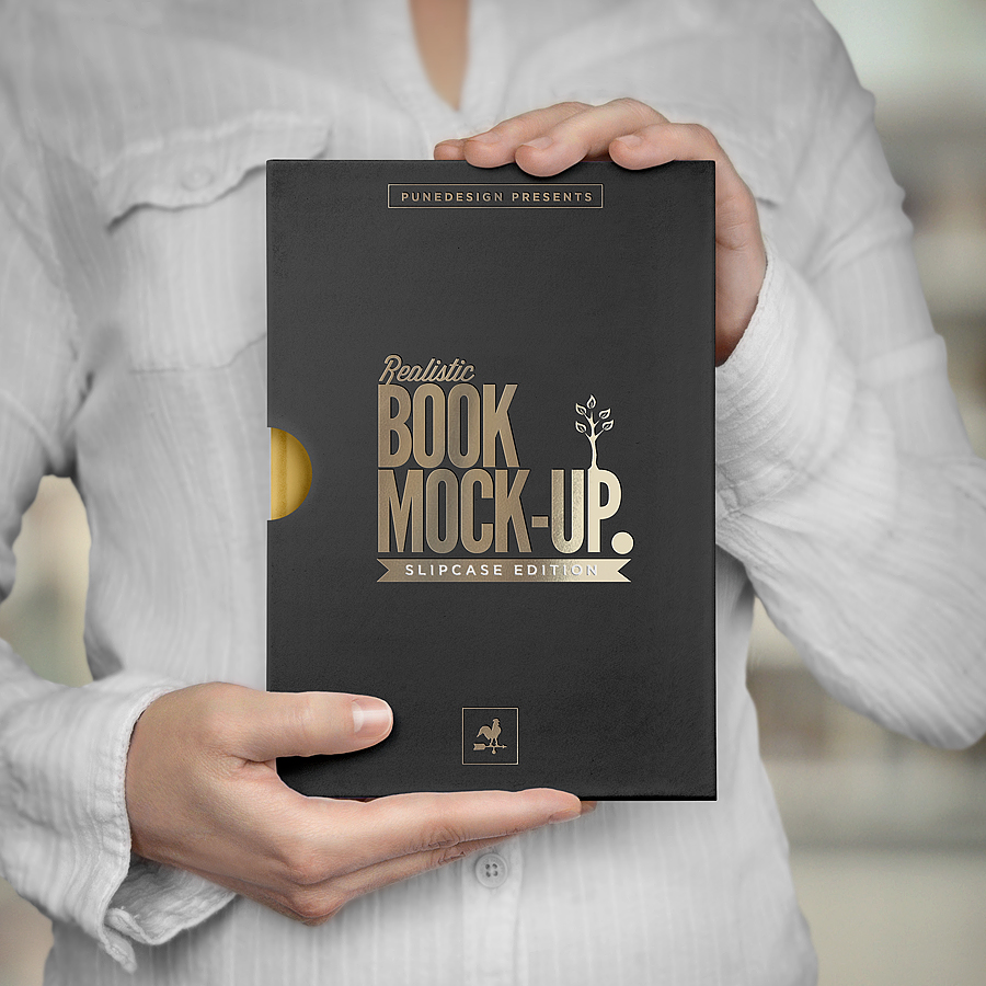 Book Mockup Slipcase Edition