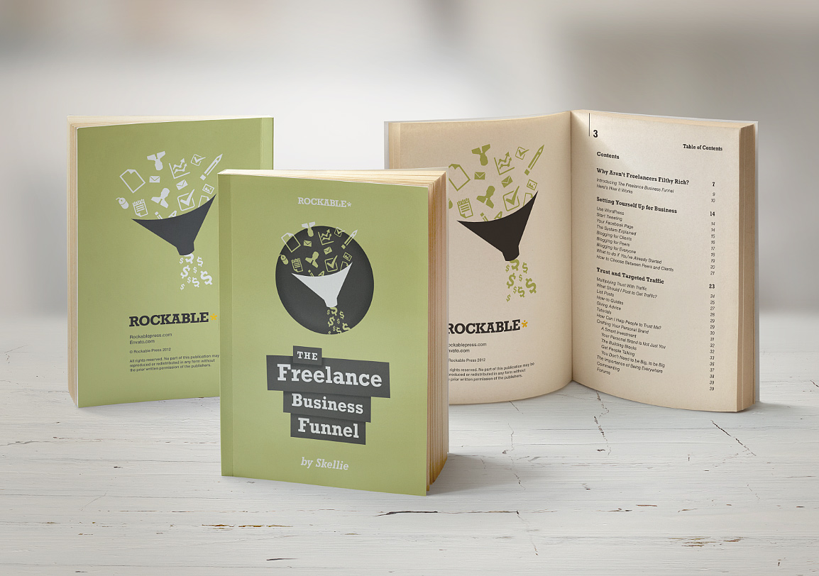 eBook Mockup, Book Mockup