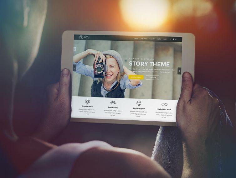 Tablet / iPad Mock-Up