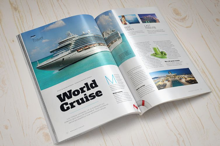 Magazine Mock-Up Set – 2