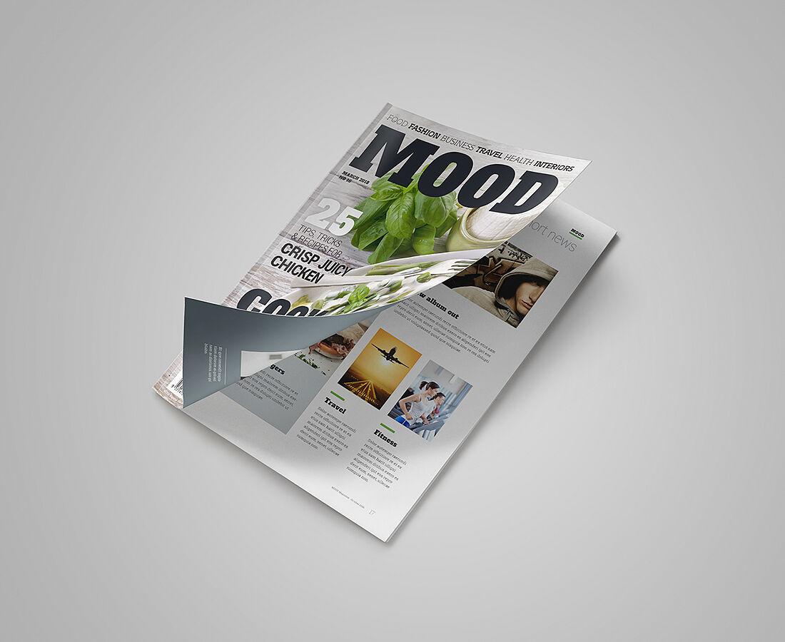 Magazine Mockup Set
