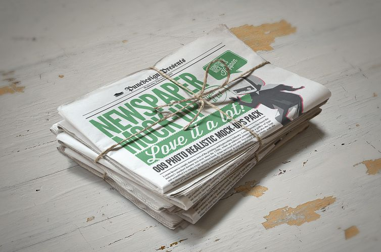 Newspaper Mock-Up – 2
