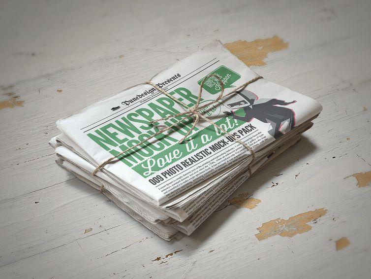 Newspaper Mock-Up – 2