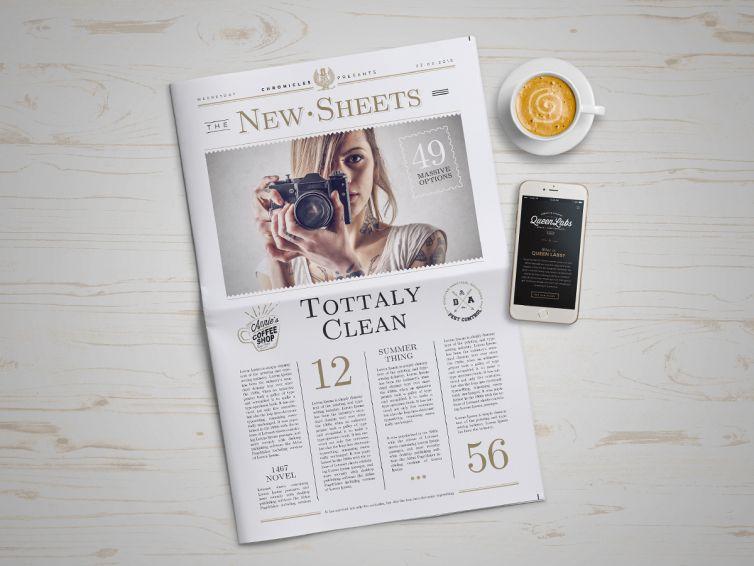 Newspaper Mock-Up – 4