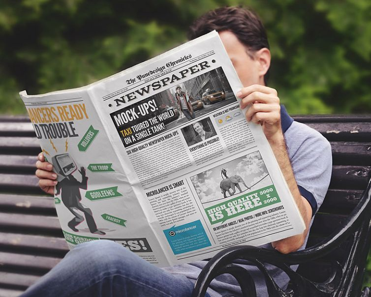 Newspaper Mock-Up – 3