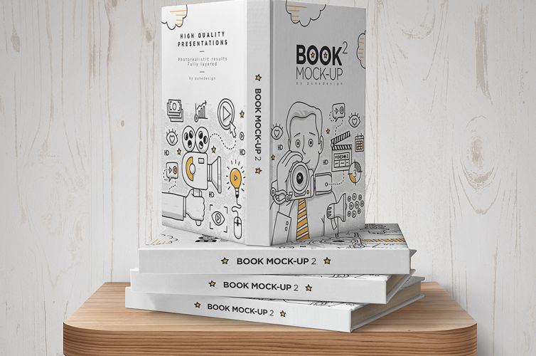 Book Mock-Up Set – 2