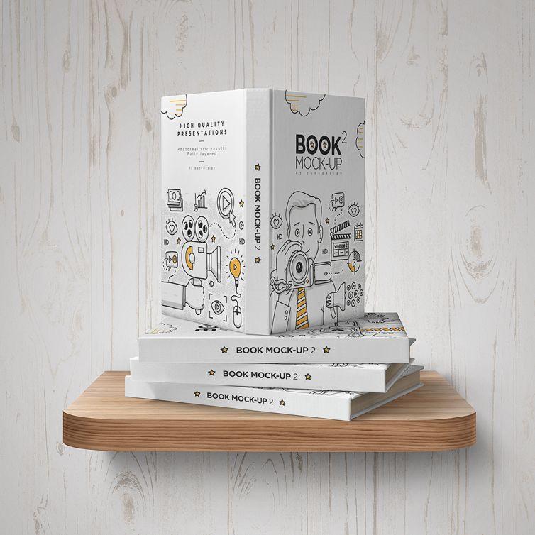 Book Mock-Up Set – 2
