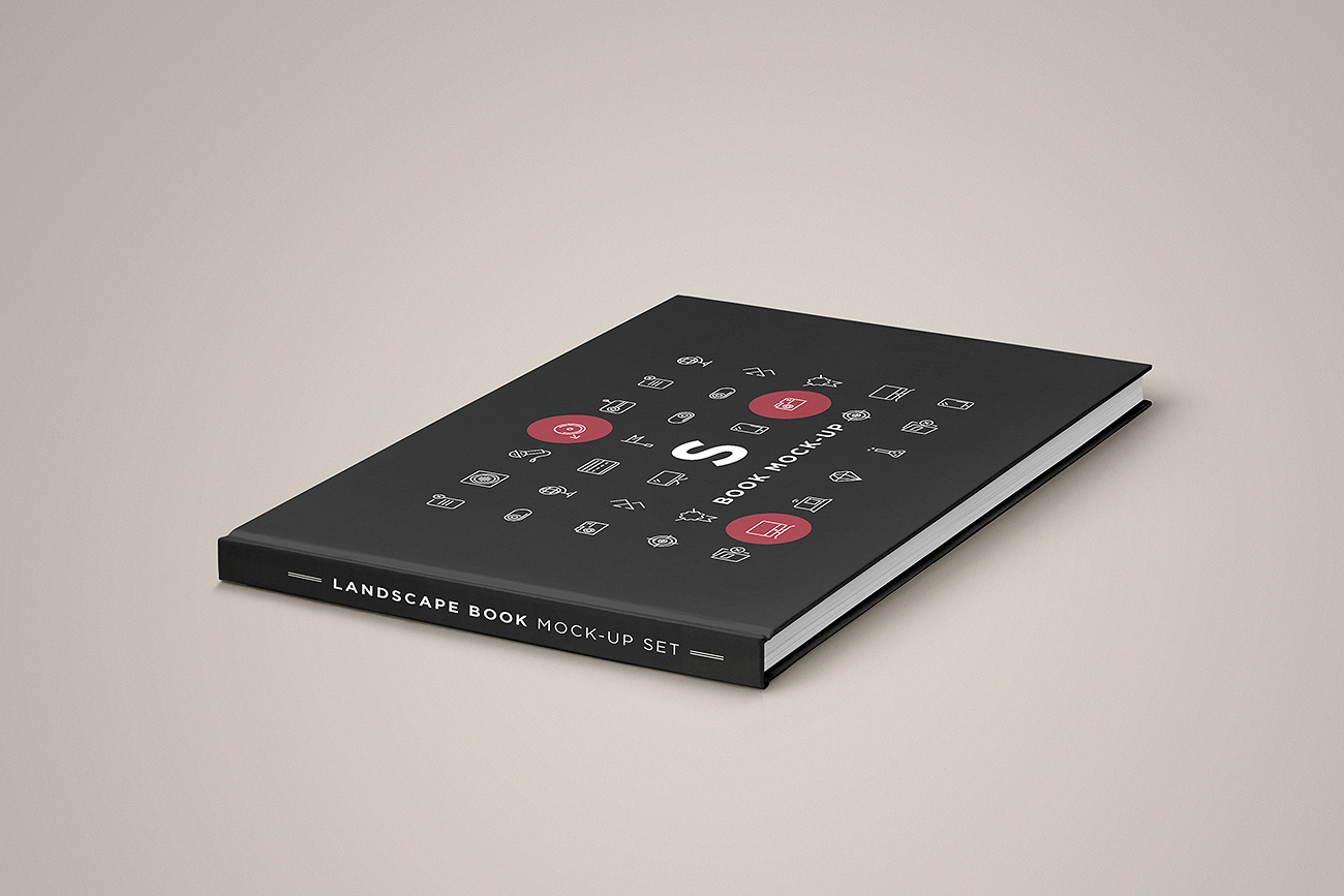 Landscape Book Mock-up