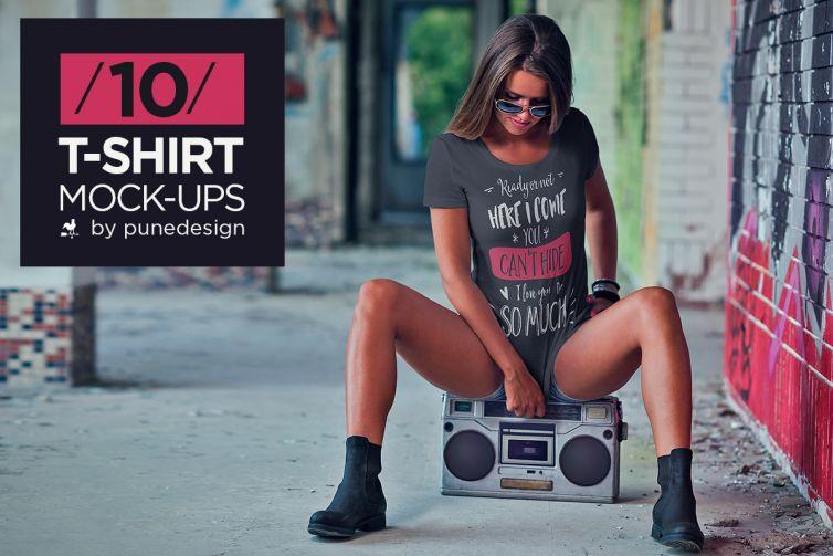 T-Shirt Mock-Up Vol.3