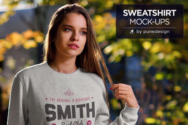 Sweatshirt Mock-Up Vol.1