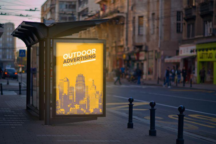 Outdoor Advertising Mock-Up Vol.2