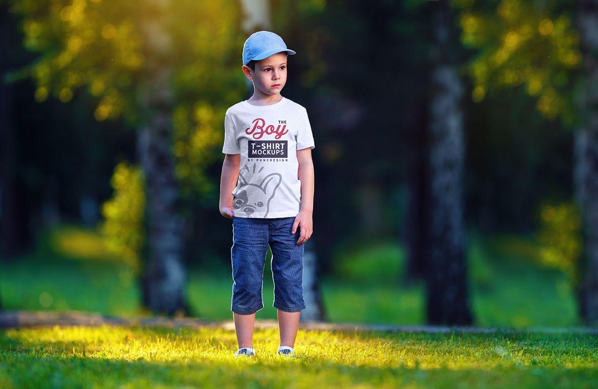 01-Boy-T-Shirt-Mockup-By-PuneDesign