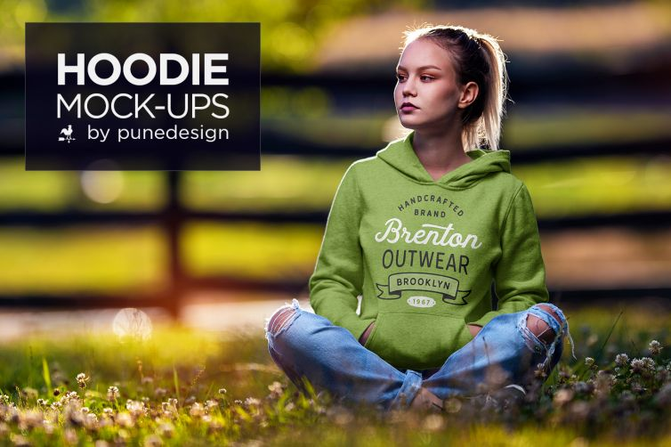 Hoodie Mock-Up Vol.3